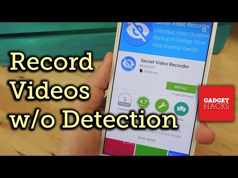 Secretly Record Videos on Android [How-To]
