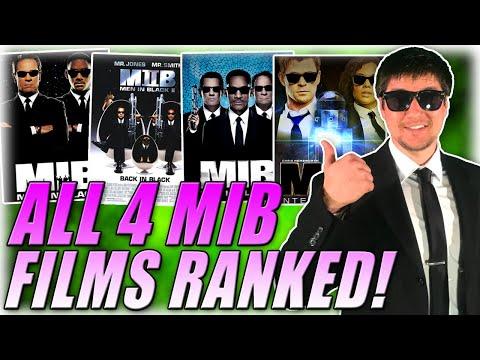 All 4 Men In Black Films Ranked In Under 2 Minutes!