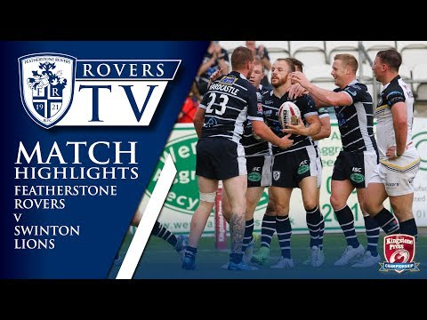 MATCH HIGHLIGHTS: Featherstone Rovers 36-2 Swinton Lions