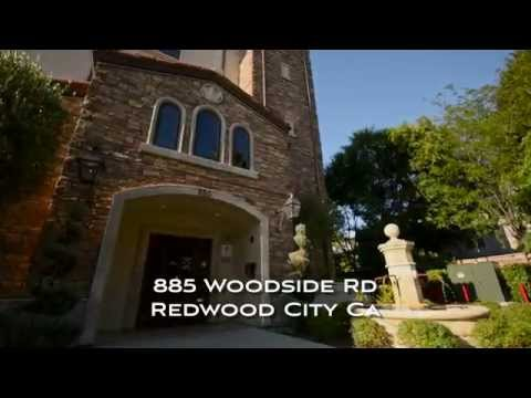 885 Woodside Rd Redwood City CA by Douglas Thron commercial drone videos bay area
