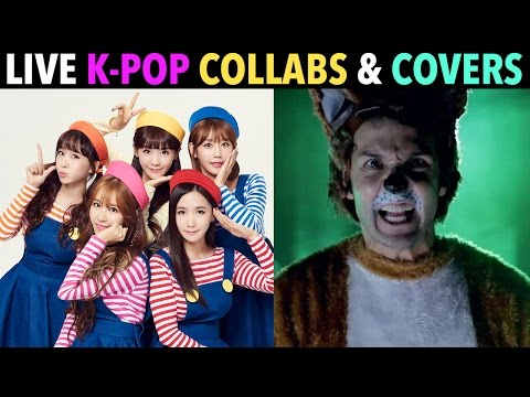 LIVE K-POP COLLABORATIONS! (PART 2)