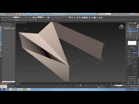 3ds Max  08-11 Editable Mesh   Edit Geometry Rollout   Turn