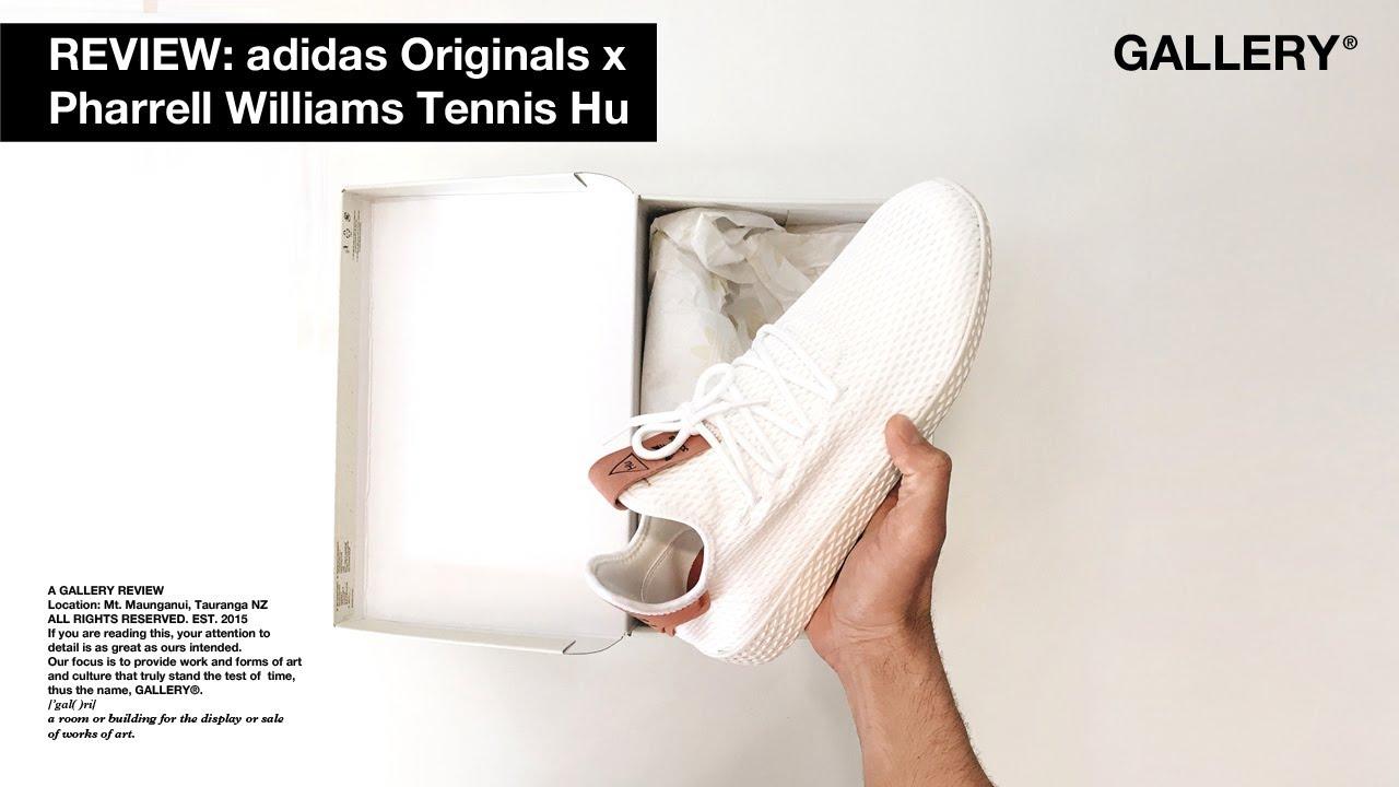 33ed942ed3efb REVIEW – ADIDAS ORIGINALS x PHARRELL WILLIAMS TENNIS HU - YouTube