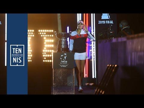 Fed Cup Finale France - Australie : le retour victoirieux de Kiki aux vestiaires