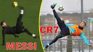 Imposibles Goles en Entrenamientos Nivel Cracks ft. Cristiano Ronaldo, Messi, & Mas ...!