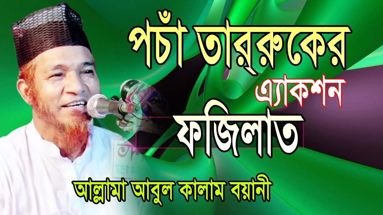 Download পচা তার্রুকের এ্যাকশন ও ফজিলত   bangla waz   allama abul kalam boyany   arp tv   posa tabaruk   2020