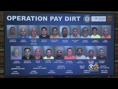 Illegal Dumping Ring Busted On Long Island