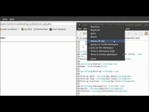 Email template with PHP - YouTube