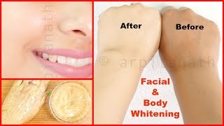 Full Body & Facial Whitening Mask / Ubtan || Fair Skin in 1 Week Guaranteed