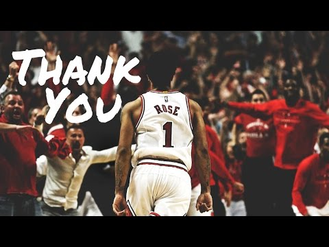 Thank You Derrick Rose! Chicago Bulls Tribute Mix [HD]