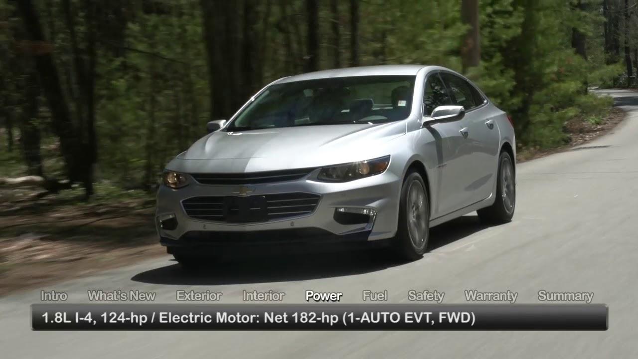2017 Chevrolet Malibu Hybrid Test Drive