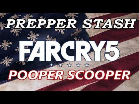 Far Cry 5 - Pooper Scooper - Prepper Stash Guide
