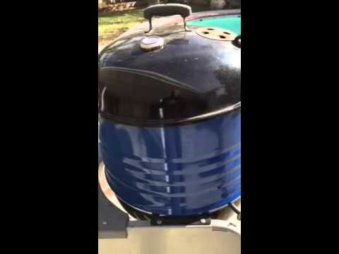 Weber Kettle Extension Ring Mod Youtube