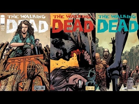 The Walking Dead 127, 128, 129 Covers - Who Is this New Female? - Video Predictions