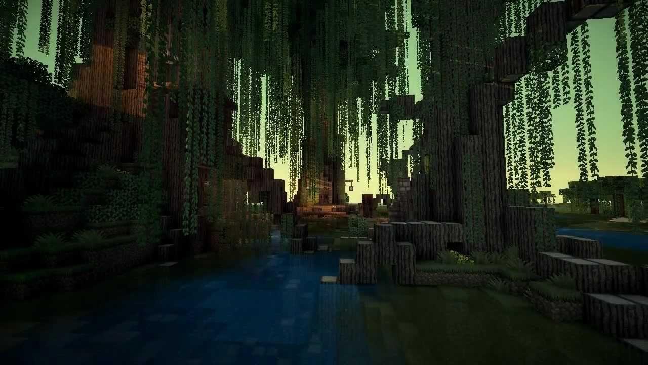 My Swamp Minecraft Creations Youtube