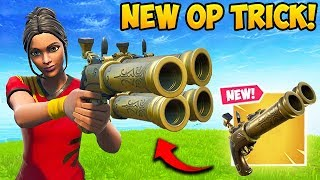 *NEW* SUPER OP FLINT KNOCK TRICK!! - Fortnite Funny Fails and WTF Moments! #588