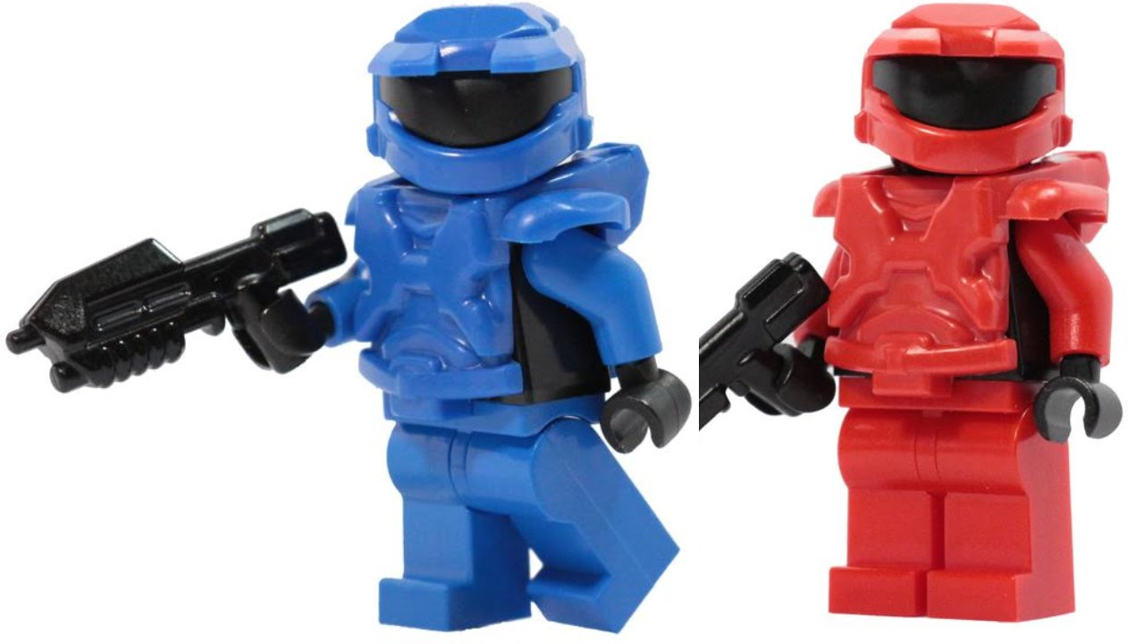 New custom lego halo armor youtube - Lego spartan halo ...