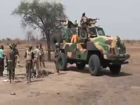 NIGERIAN ARMY CLEARING SAMBISA FOREST