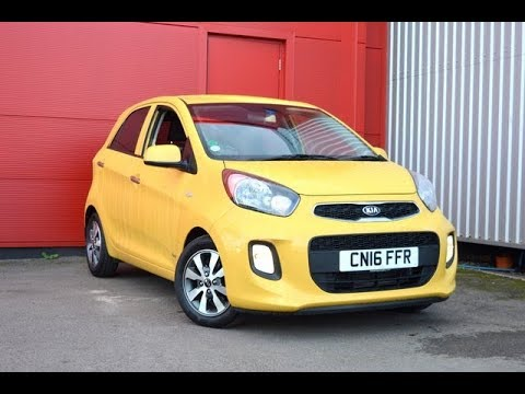 Wessex Garages Penarth Road Cardiff, Used, Kia Picanto SR7, PETROL, MANUAL, CN16FFR