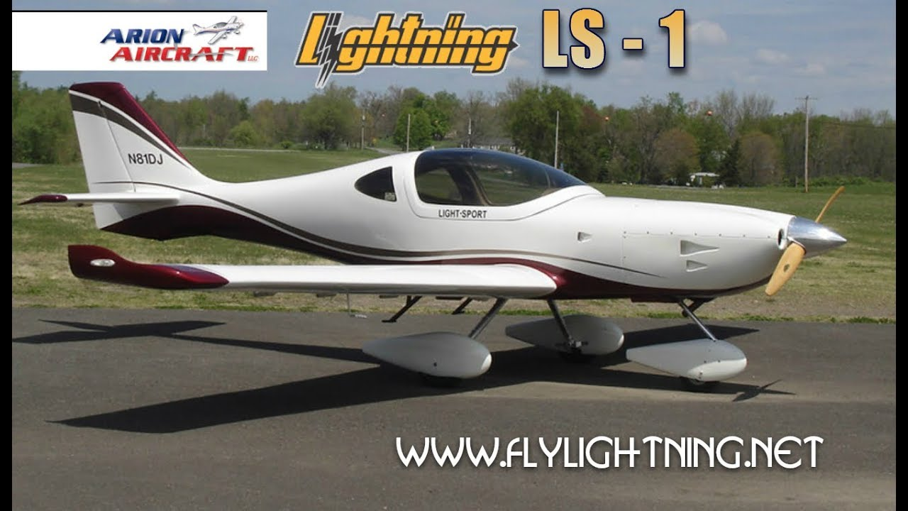 Good Lightning LS1, Light Sport Aircraft Review, Midwest LSA Expo 2017 Mt.  Vernon Outland Airport Great Pictures
