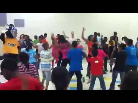 Zumba(r) at Warrington Elementary School with Robin