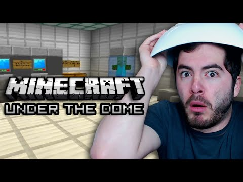 Minecraft: BREAKING OUT OF THE DOME - Ep. 2