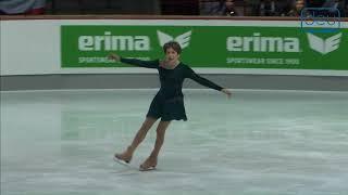 Barbara TKACH. Oberstdorf 2018. Silver Ladies IV - Free Skating. 3 place