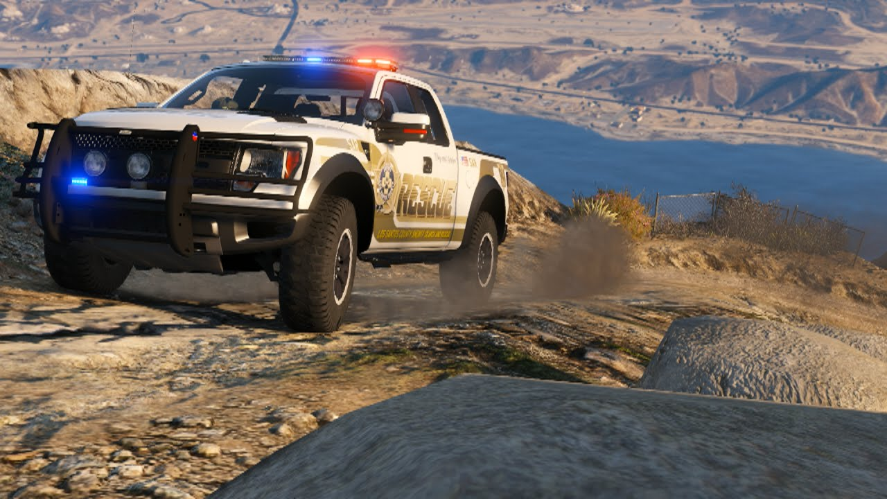 Police Ford Raptor Off-Road Testing - YouTube