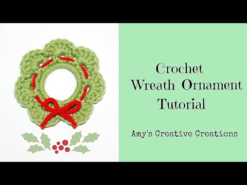 Crochet Milk Ring Wreath
