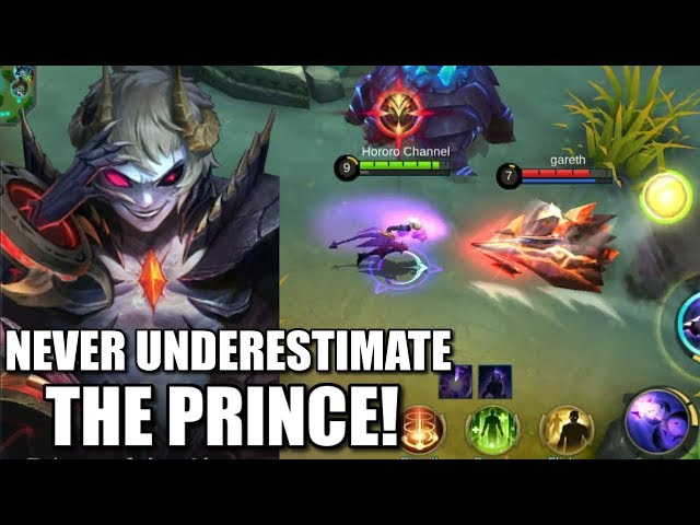 PRINCE DYRROTH IS PERFECTLY BALANCE