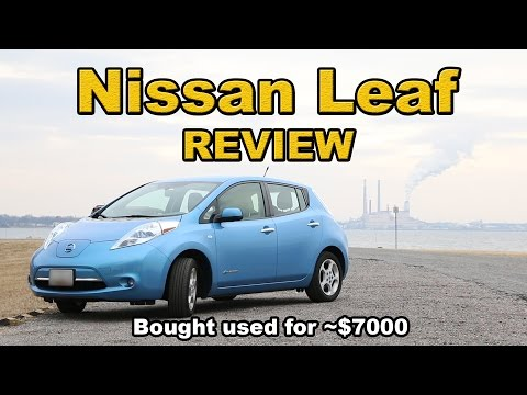 Nissan Leaf review (Bought used for $7000)