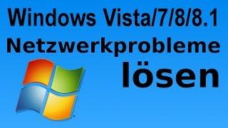 Windows: Nicht identifiziertes Netzwerkproblem lösen. Öffentliches Netzwerk auf Heimnetz umstellen