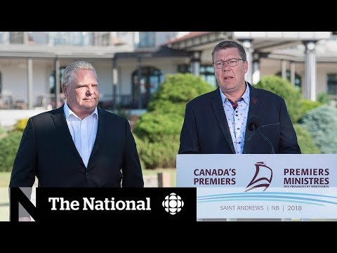 CBC News: The National: Carbon tax fight intensifies as Ontario joins Saskatchewan in opposition