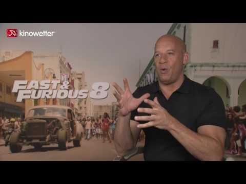 Interview Vin Diesel FAST & FURIOUS 8