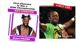 Kofi Kingston - First Ghanaian to Win a WWE Championship