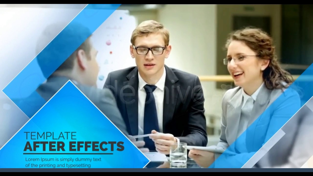 Company Presentation Free Download After Effects Project Youtube