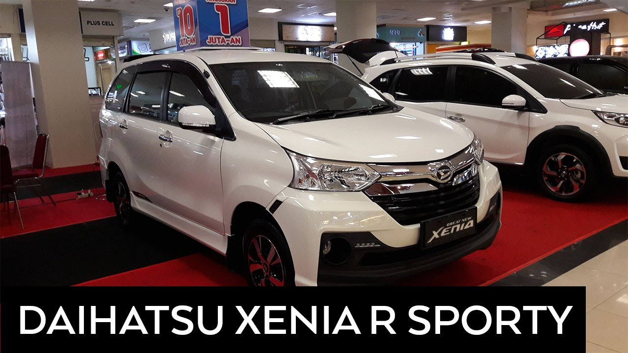 Grand New Avanza Warna Putih Toyota Yaris Trd Sportivo 2017 Daihatsu Xenia R Sporty Exterior And Interior Walkaround