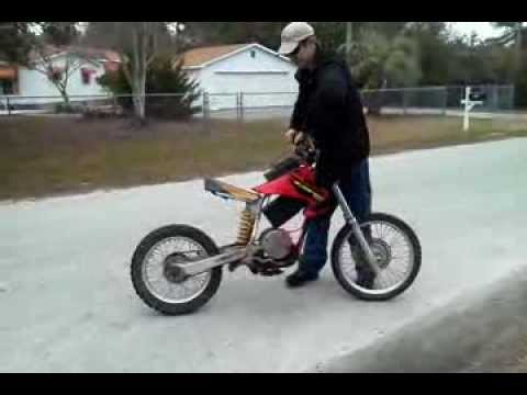 Ride On Electric Dirtbike Youtube
