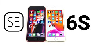 iPhone SE 2020 vs iPhone 6S Speed Test!