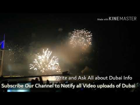 New Year 2019 @ Burj Al Arab Beach View, Dubai
