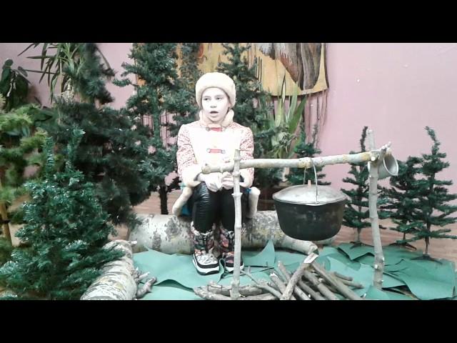 Изображение предпросмотра прочтения – ЛюдмилаШумилова читает отрывок изпроизведения «Крестьянские дети» Н.А.Некрасова