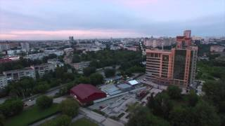 Пермь с высоты птичьего полета Full HD