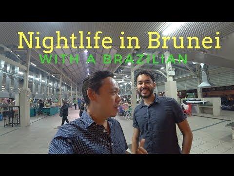 Travel in BRUNEI 🇧🇳 | Explore BRUNEI nightlife with a Brazilian