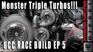 Monster Triple Turbos in Our Race Diesel | UCC Race Build, Ep. 5 | Power Driven Diesel