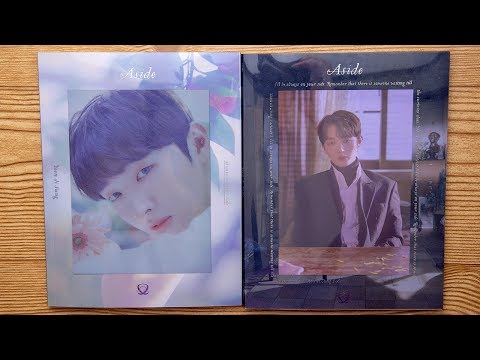 Unboxing | Yoon Ji Sung Solo Album Vol. 1 - Aside (Bang + Baek Version)