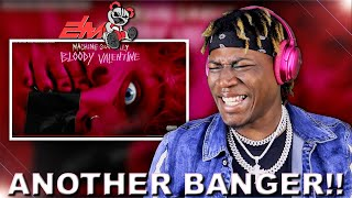 "Machine Gun Kelly - Bloody Valentine ""Official Audio"" 2LM Reaction"