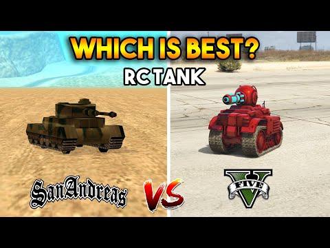 GTA 5 RC TANK VS GTA SAN ANDREAS RC TANK : WHICH IS BEST?