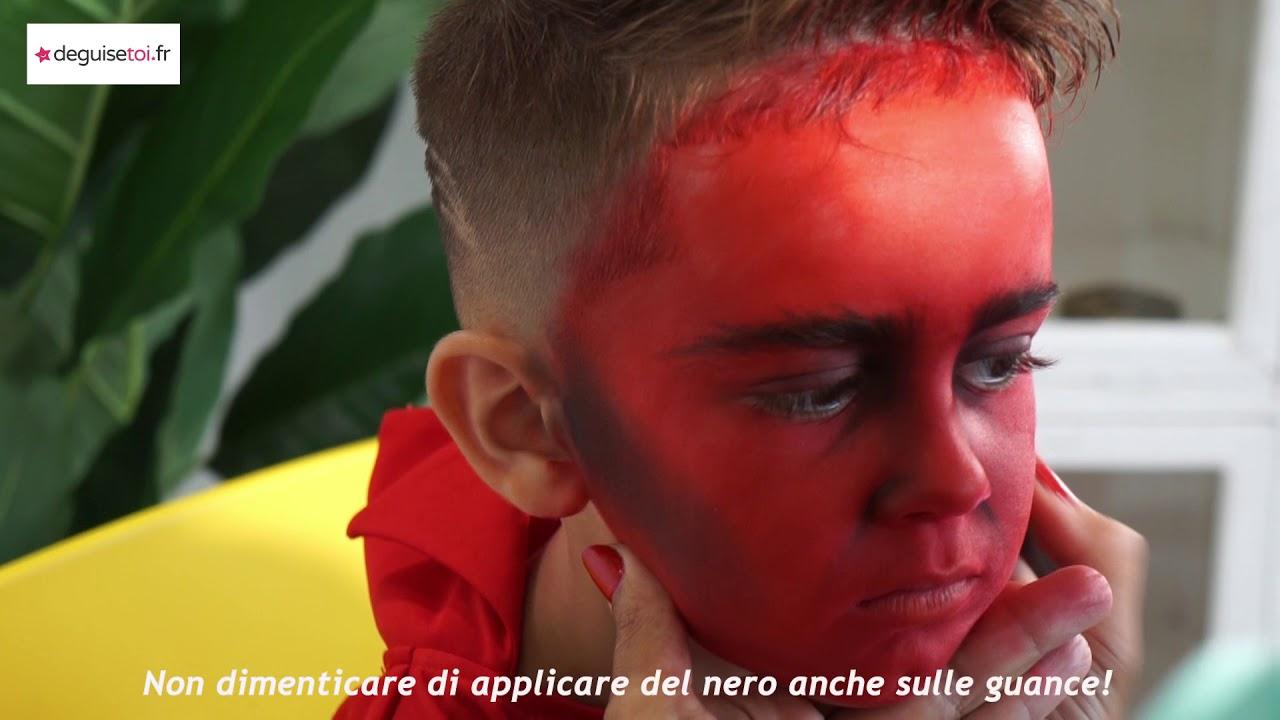Trucco da diavolo per bambino ! - YouTube 4c4b99a48f1d