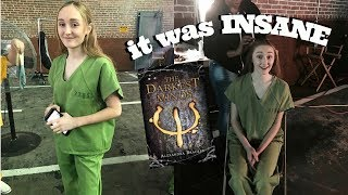 my experience as an extra in The Darkest Minds!