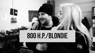 ДРИФТ-ПОРНО // 2JZ мощностью 800 л.с. для блондинки // часть 1 (800 hp 2JZ for a drift blondie)